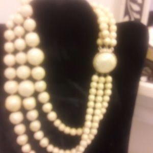 Vintage multistrand necklace